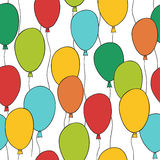 balonowy wzór Fotografia Stock
