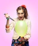 balonowy zabójca Zdjęcia Stock