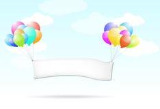 balonowy znak Obrazy Royalty Free