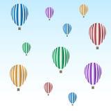 Balonu set Zdjęcia Stock