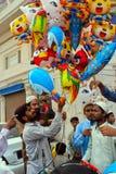 Balonu sprzedawca zdjęcia royalty free