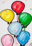 balony Zdjęcia Stock