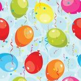 balony deseniują bezszwowego Obraz Royalty Free