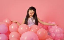 Balony dla przyjęć urodzinowych Piękno i moda, punchy pastele Fotografia Royalty Free