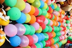 Balony dla strzałka rzutu obraz stock