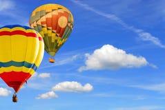 balony dwa Zdjęcie Royalty Free