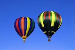 balony dwa Zdjęcie Stock
