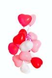 balony grupują serce kształtującego Fotografia Stock