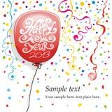 Balony i Confetti Obrazy Royalty Free