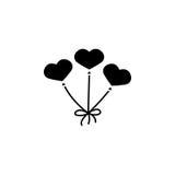 Balony jak kierowa stała ikona Zdjęcie Stock