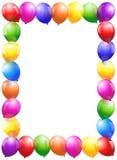 Balony Obramiają - portreta format ilustracji