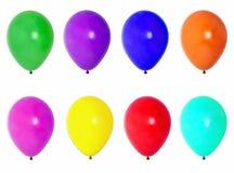 balony odizolowane white obrazy stock