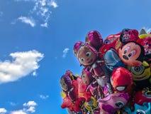 Balony, popularny kreskówki zakończenie w Krakowskim Zdjęcie Stock