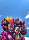 Balony, popularny kreskówki zakończenie w Krakowskim Obraz Royalty Free
