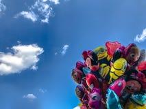 Balony, popularny kreskówki zakończenie w Krakowskim Obraz Stock