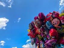 Balony, popularny kreskówki zakończenie w Krakowskim Fotografia Stock