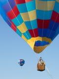 balony powietrza dwie gorące obraz royalty free