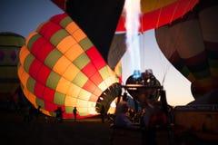 Balony przy balonowym festiwalem zdjęcia stock