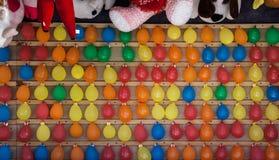 Balony przy jarmarkiem obrazy royalty free