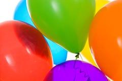 Balony: Uprawa Vibrantly Barwioni balony Zdjęcie Royalty Free