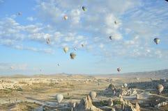 Balony w ranku obrazy stock