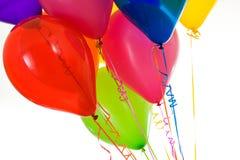 Balony: Wibrujący balony w bukiecie Fotografia Stock