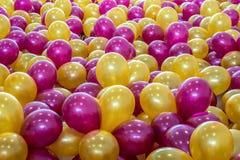 Balony wiele colours Fotografia Stock