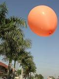 Baloon和天空 免版税库存图片