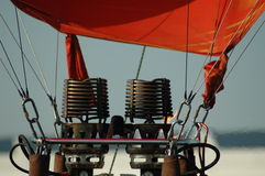 baloon燃烧器 库存图片