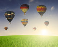 Baloon воздуха Hor Стоковые Фото