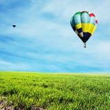Baloon. Air balloon Royalty Free Stock Image