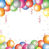 Baloon border Stock Images