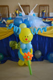 Baloon-Clown Stockbild