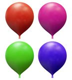 Baloon. 3D rendering of the baloon Royalty Free Stock Photo