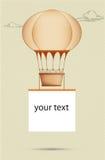 Baloon del aire caliente Imagen de archivo libre de regalías