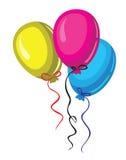 Baloon del color del vector Imagen de archivo libre de regalías