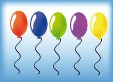Baloon di vettore Immagine Stock Libera da Diritti