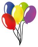 Baloon do vetor Fotografia de Stock Royalty Free