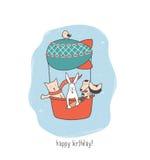 Baloon du BD Illustration de Vecteur
