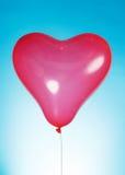 Baloon en forme de coeur Photos libres de droits