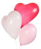 Baloon en forme de coeur Image stock