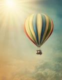 Baloon för varm luft Arkivfoto
