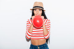 Baloon fun. Royalty Free Stock Photography