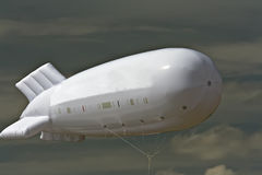 Baloon like airship. Space for text in the sky, or on the side of the baloon like airship Royalty Free Stock Photos