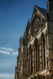 Baloon and Minster in York, Yorkshire, England  the UK Royalty Free Stock Images