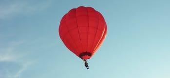 Baloon rosso fotografia stock
