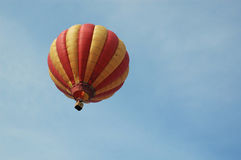 Baloon on the sky. Flying with balloon royalty free stock images