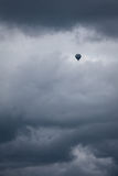 Baloon in Storm Royalty Free Stock Photo