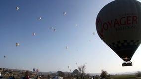Baloon,traveler people, view,tourism,travel,2016 stock video
