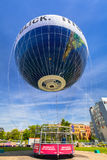 Baloon trip in the city center of Berlin, Germany Royalty Free Stock Image